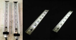 Encapsulated Fill Route for Water Tight Linear Fixture