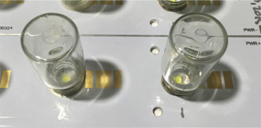 LED Chemical Compatibility Testing