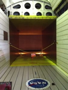 NASA AMES RESEARCH CENTER WIND TUNNEL PROJECT