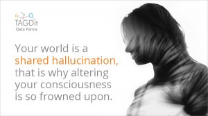 Your world is a shared hallucination, that is why altering your consciousness is so frowned upon.